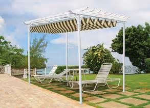 Shade Fabric For Pergola by Retractable Canopies Amp Pergolas From Betterliving