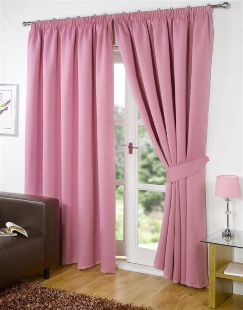 standing curtain wall living room curtains ideas white wall pink plain vertical