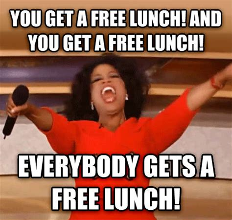 work christmas lunch memes livememe oprah you get a car and you get a car