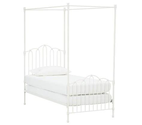pottery barn iron bed emma iron bed canopy pottery barn kids