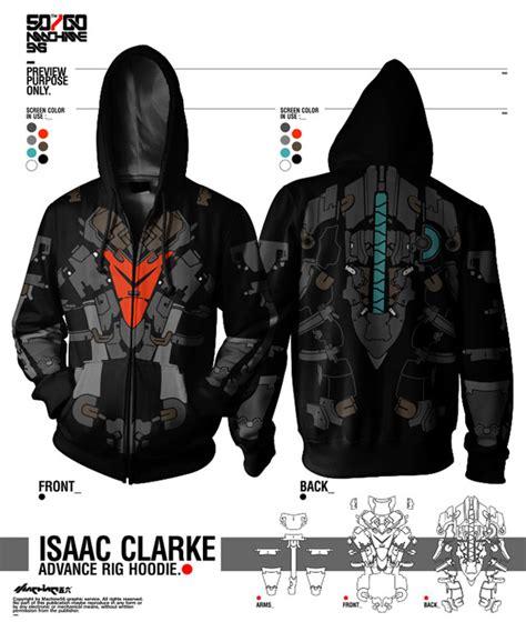 Hoodie Biru Dongker Dead Space let s get this isaac clarke advanced rig hoodie made ea