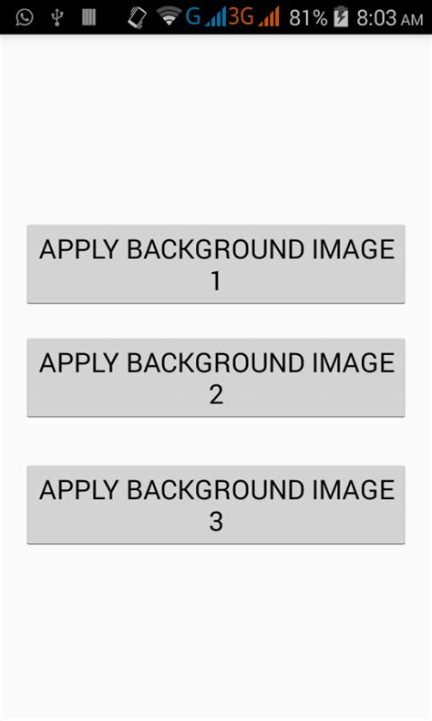 add layout xml programmatically android set activity layout background image programmatically