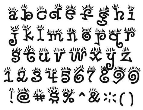 letras gruesas para carteles abecedario tipos de letra imagui tipograf 237 a