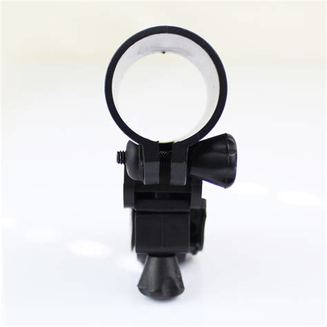 Bike Bicycle Flashlight Senter Holder Easy Mount And Ea Diskon bike cycle bicycle light front torch flashlight mount bracket clip holder