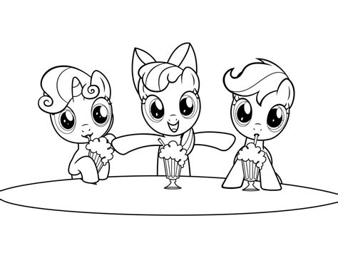 pony coloring pages bestofcoloring