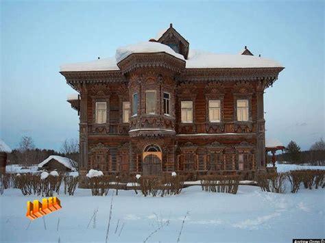 casas rusas medievales - Casas Rusas
