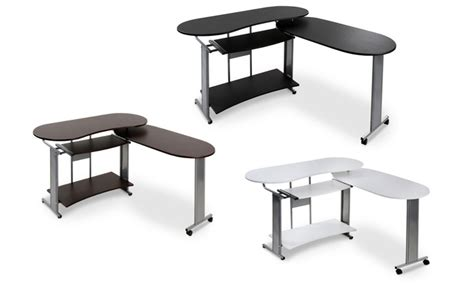 extendable desk smith extendable corner desk groupon goods
