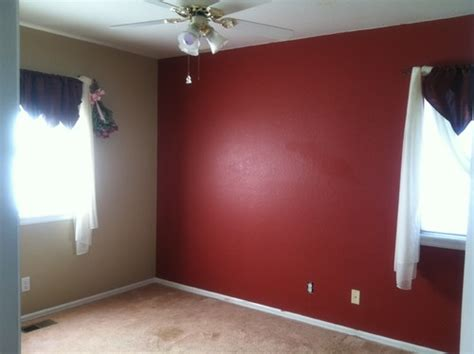 maroon wall paint new empty nesters new grandparent nursery