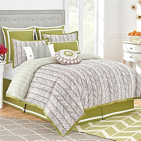 jill rosenwald bedding jill rosenwald arrows comforter set in hazelnut www