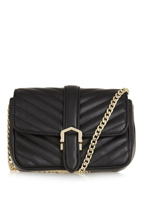 Quilted Cross Bag magic quilted crossbody bag topshop