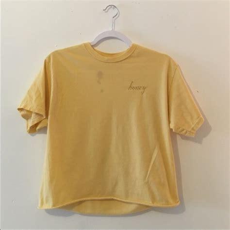 Honey T Shirt yellow honey t shirt