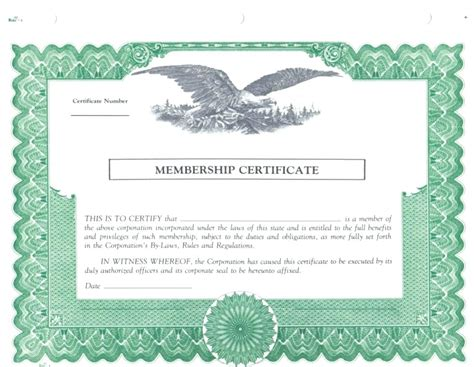 masonic dues card template template new member certificate template