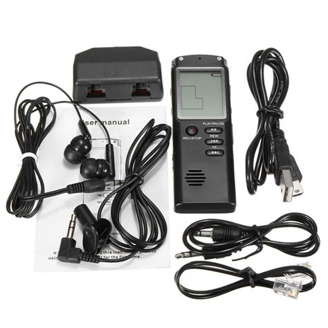 810 8gb Rechargeable Digital Voice Recorder Mp3 With Ti Murah 8gb portable rechargeable lcd digital audio voice recorder