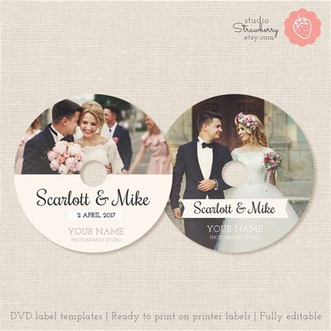 wedding dvd template 17 best ideas about dvd labels on cd labels