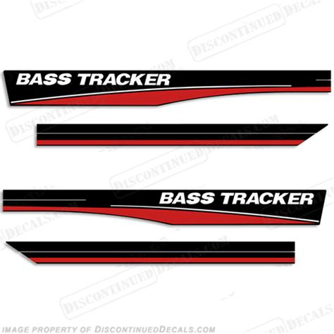 bass boat decals stickers bass tracker decals