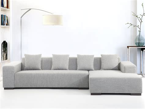light grey sectional modern sectional sofa light gray lungo l beliani com
