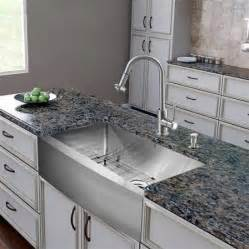 Kitchen Faucets For Farmhouse Sinks com has introduced a guide to designer stainless steel kitchen sinks
