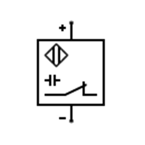 schematic symbol sensors pressure switch contact