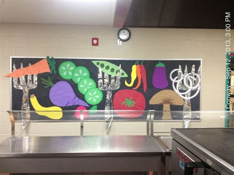 cafeteria ideas cafeteria bulletin boards school lunch room bulletin board created by me pinterest