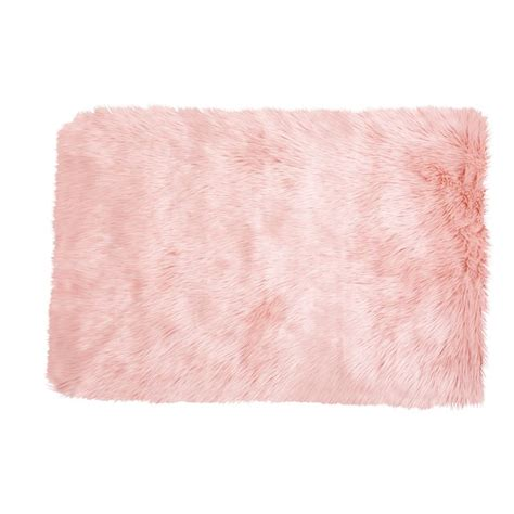 blush pink fur chair best 25 fur rug ideas on faux fur rug white