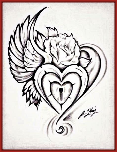 imagenes para dibujar a lapiz con frases dibujos archivos fotos de corazones