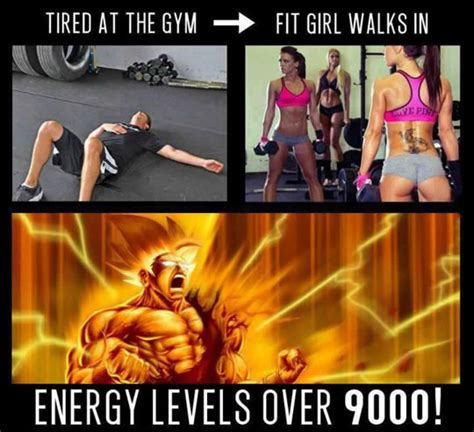 Girl Gym Meme - tired at the gym when a fit girl walks in