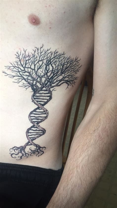 dna tree tattoo 70 tree of tattoos