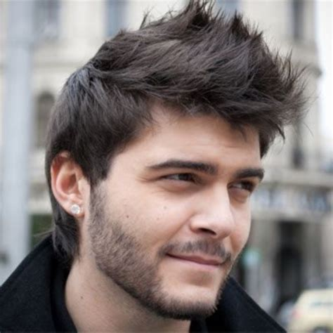 styling spiky hair boy cool and stylish spike haircuts short hairstyles for men