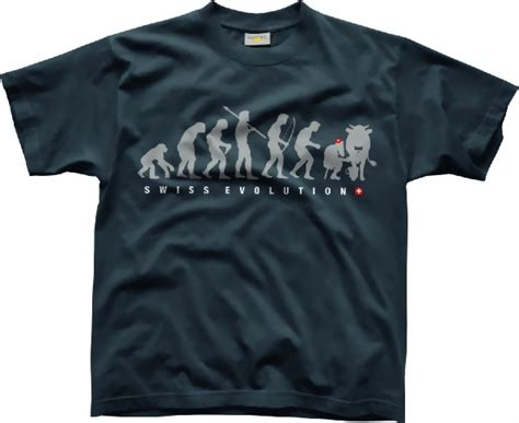 Tshirt Swiss 2 t shirt swiss evolution cat
