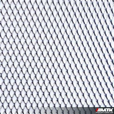 Grille Alu grille aluminium brute maille large pour pare choc calandre