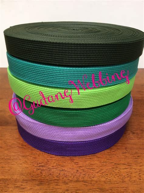 jual tali webbing warna 2 5 cm gudang webbing
