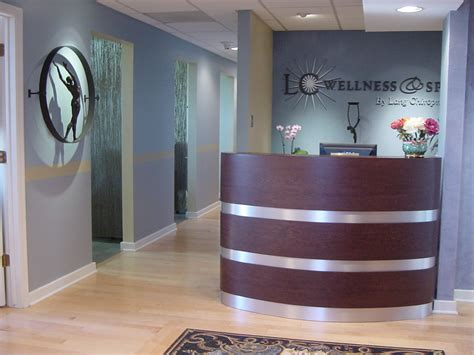 Reception Front Desk Lang Chiropractic Chiropractor In Abington Pa Usa Office Tour