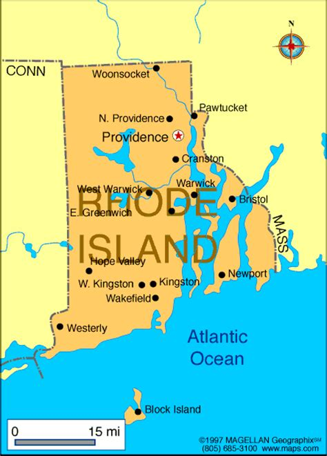map of ri atlas rhode island