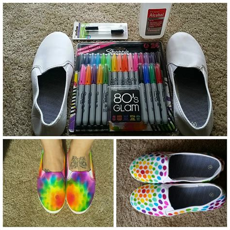 diy dye shoes made in michigan diy tie dye shoes with sharpies