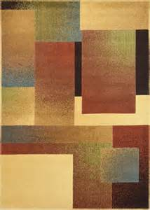 Modern Geometric Rugs Contemporary Geometric Area Rug Modern Stripe Squares Carpet Actual 7 10 Quot X10 5 Quot Ebay