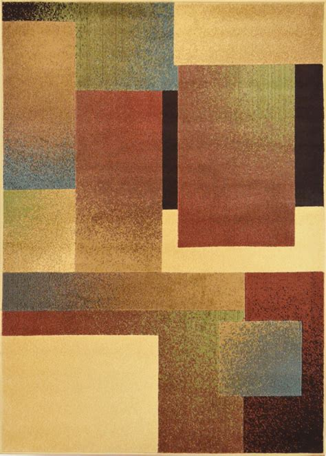 Area Rug Contemporary Contemporary Geometric Area Rug Modern Stripe Squares Carpet Actual 7 10 Quot X10 5 Quot Martlocal