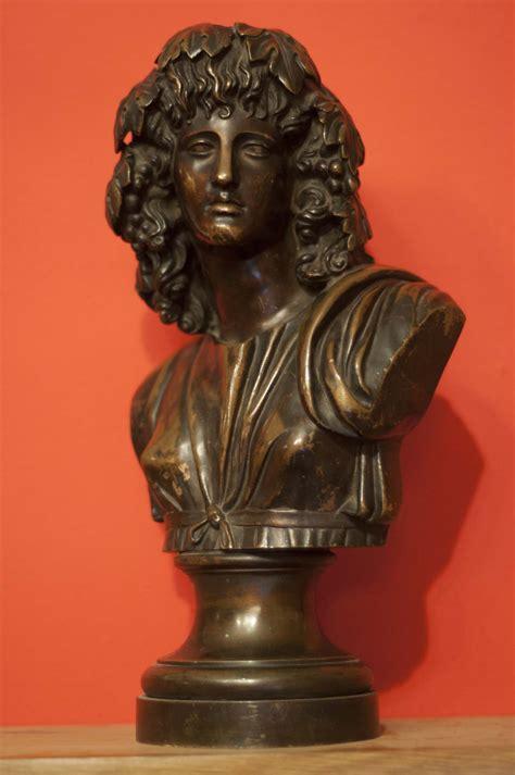 Antique Chandeliers London Antique Bronze Bust Of Dionysus Or Baccus Ancient Greek