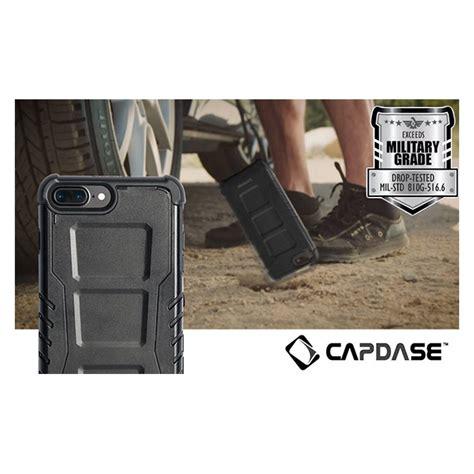 Capdase Armor Suit Rider Jacket Casing Iphone 7 Hitam iphone8 7 6s 6 ケース armor suit rider jacket black
