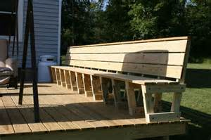25 best ideas about deck bench seating on pinterest deck seating decking ideas and deck