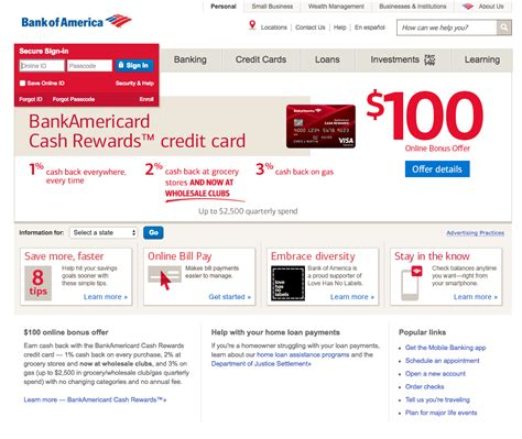 Bank Of America Secured Business Credit Card