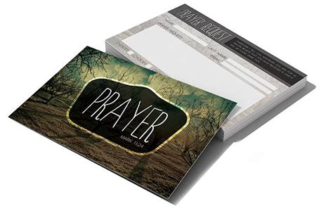 church prayer request card template prayer request card church postcards and products