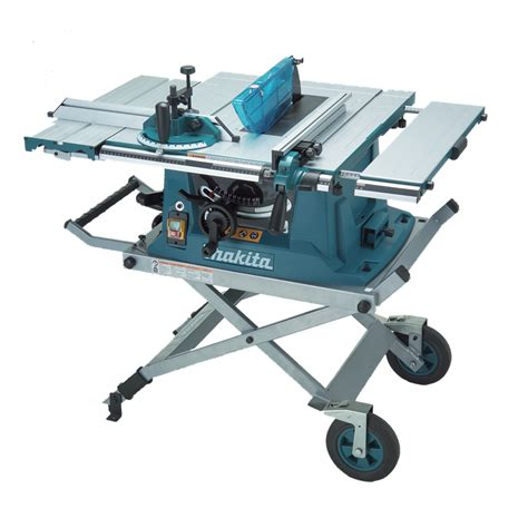 makita 1500w 255mm table saw with stand bunnings warehouse