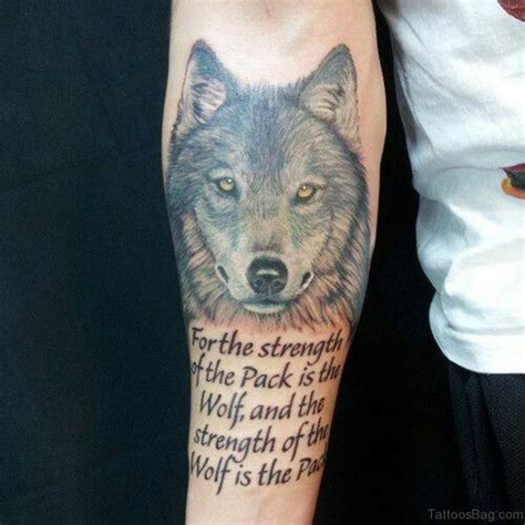 wolf forearm tattoo 50 exclusive wolf tattoos for arm