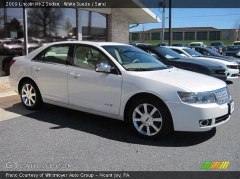 2009 Lincoln Mkz by White Suede 2009 Lincoln Mkz Sedan Sand Interior