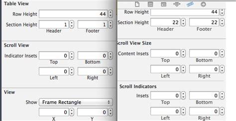 xcode uiscrollview tutorial storyboard ios setting a uitableview s contentinset through