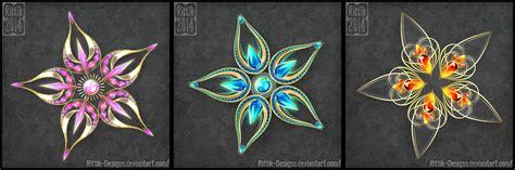 design flower game flower gems adopts 1 closed by rittik designs on deviantart