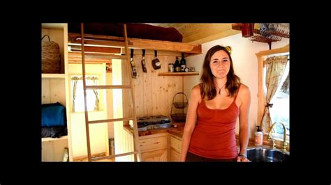 Tiny House Plans For Sale by Tumbleweed Tiny House Tour With Ella Jenkins Youtube