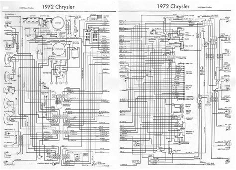 chrysler   yorker  complete electrical wiring diagram   wiring diagrams