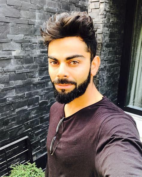 Virat Latest Beard Style Imagea 2017 | virat kohli beard 2017 looks pics latest style kohli