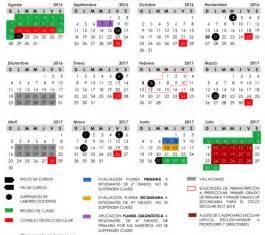 calendario escolar secretar 237 a de educaci 243 n y cultura